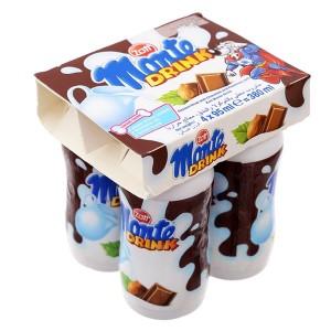 Lốc 4 hũ váng sữa uống Zott vị schoko Monte Drink 95ml