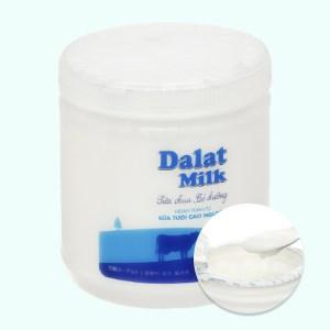 Sữa chua có đường Dalat Milk hộp 500g