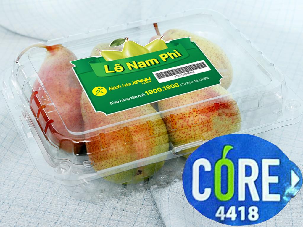 Lê Nam Phi nhập khẩu hộp 1kg (5 - 6 trái) 9
