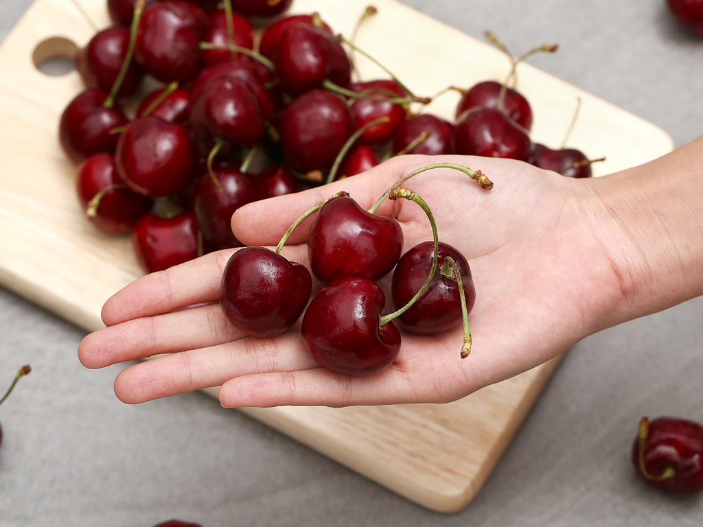 Cherry đỏ hộp 1kg 5