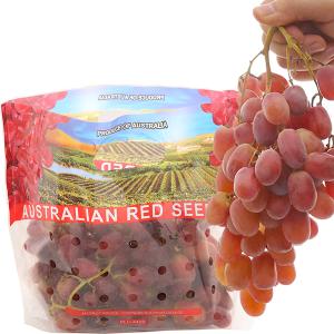 Nho Crimson đỏ không hạt nhập khẩu Úc túi 1kg