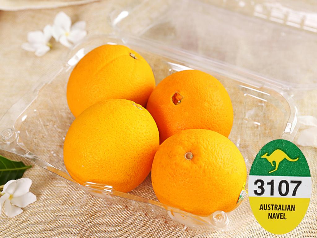 Cam vàng Navel nhập khẩu Úc hộp 1kg (4 - 5 trái) 7