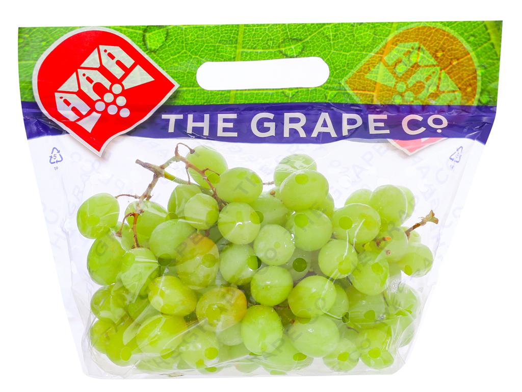 Nho xanh không hạt nhập khẩu Nam Phi túi 1kg 7