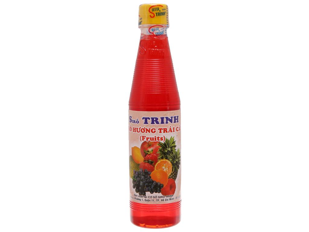 Si rô Trinh hương trái cây 350ml 1