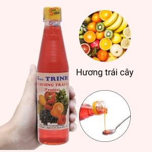 Sirô hương trái cây Trinh 350ml