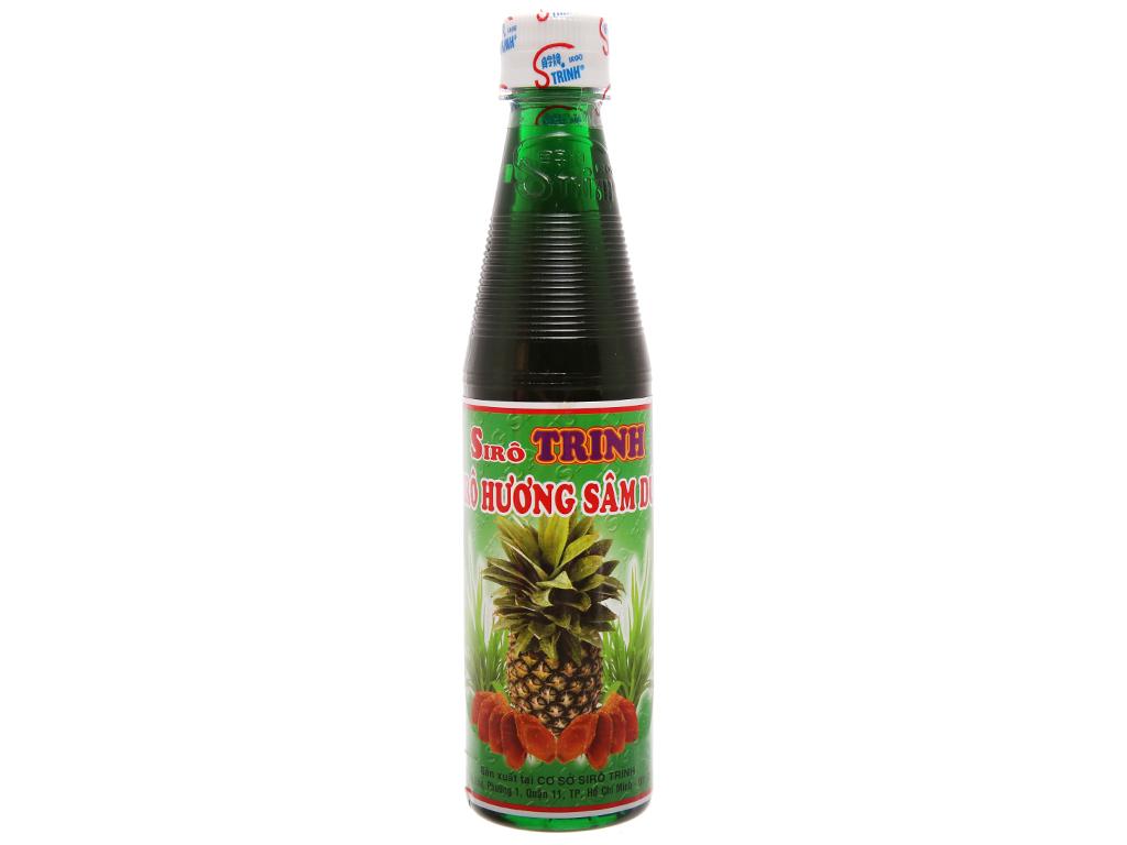 Sirô Trinh hương sâm dứa 350ml 1