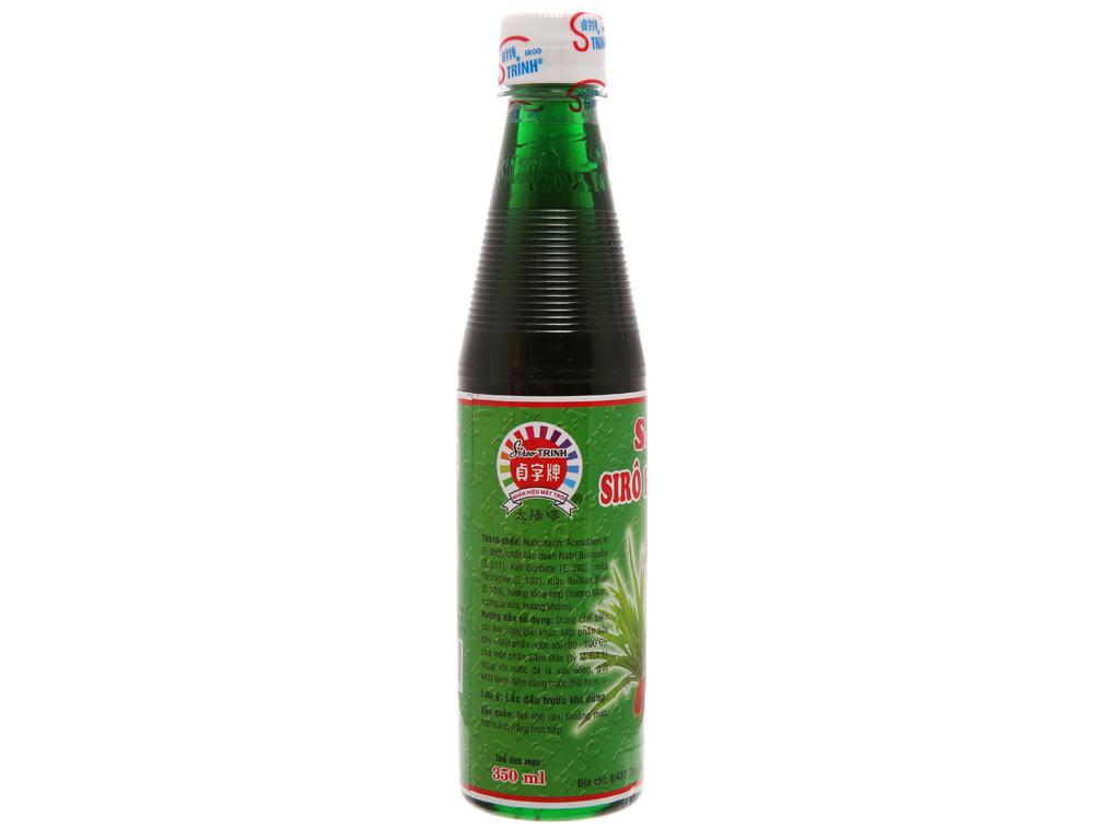 Sirô Trinh hương sâm dứa 350ml 2