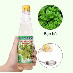 Sirô hương bạc hà Trinh 350ml