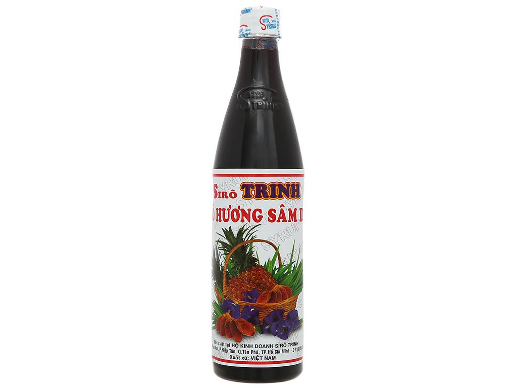 Sirô hương sâm dứa Trinh 650ml 1