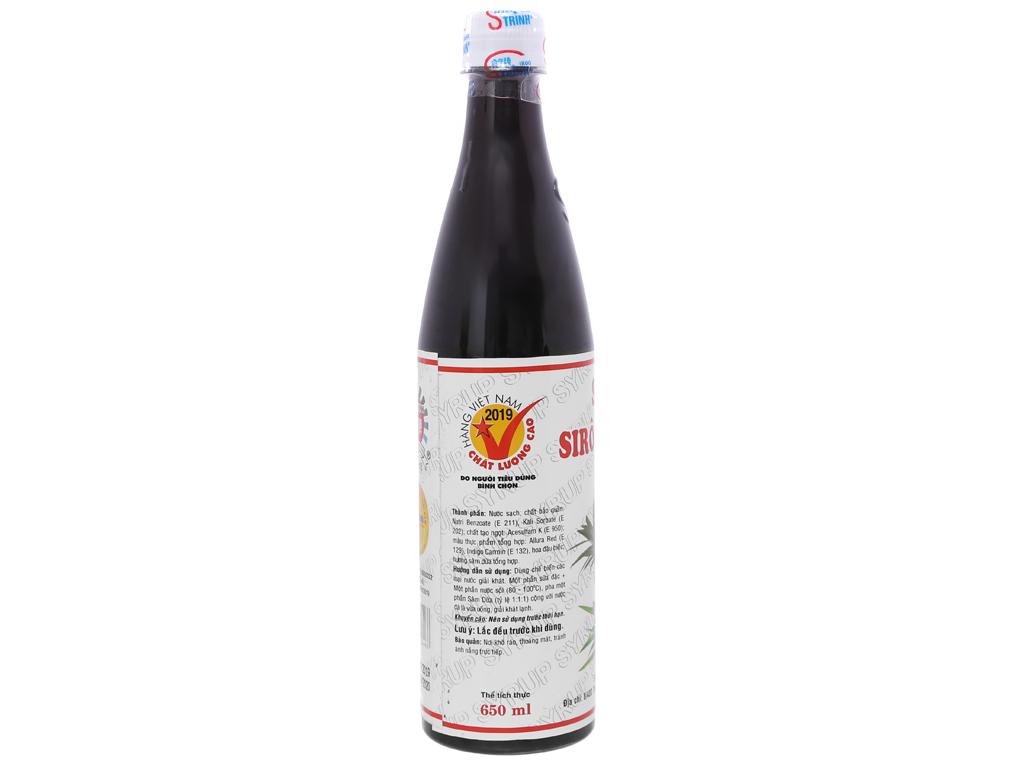 Sirô Trinh hương sâm dứa 650ml 2