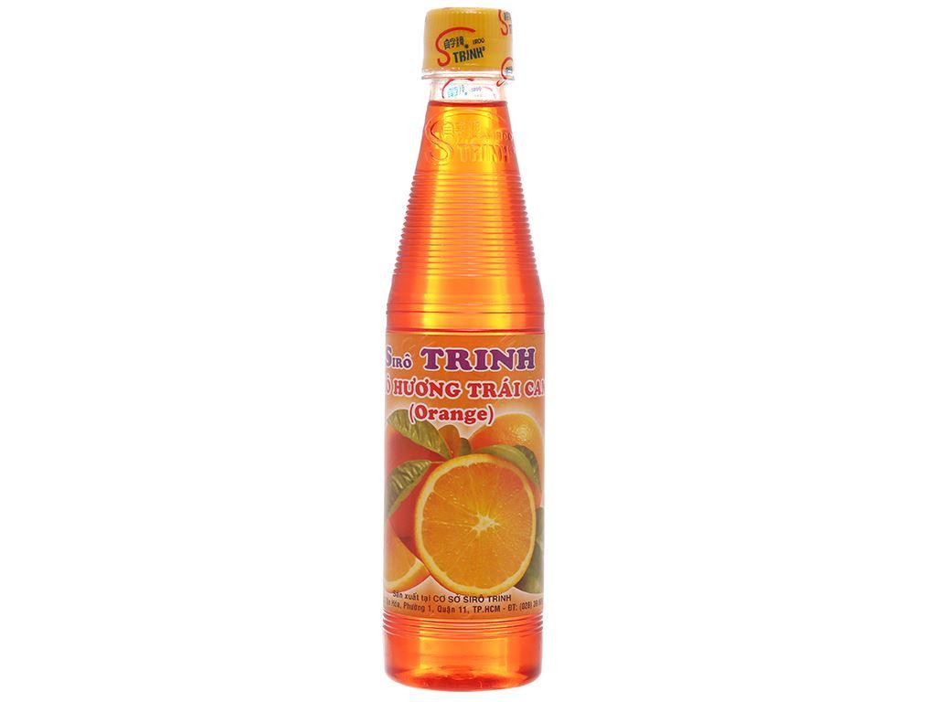 Sirô hương cam Trinh 350ml 1