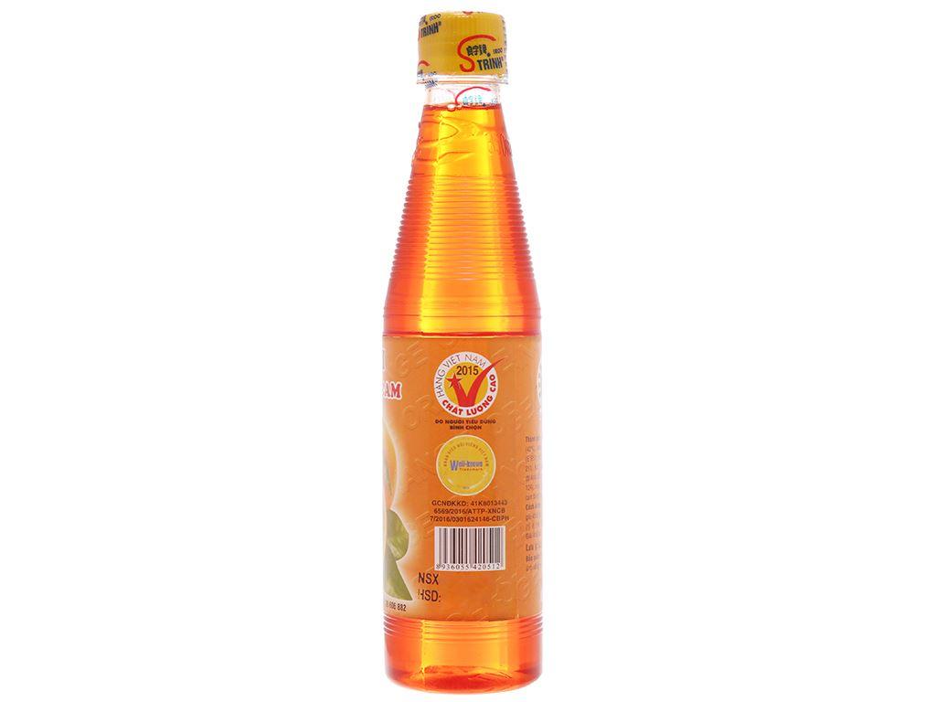 Sirô hương cam Trinh 350ml 2