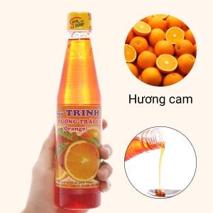 Sirô hương cam Trinh 350ml
