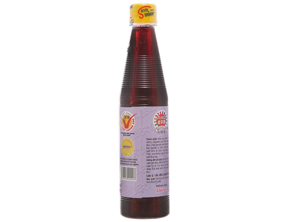Sirô Trinh hương việt quất 350ml 2