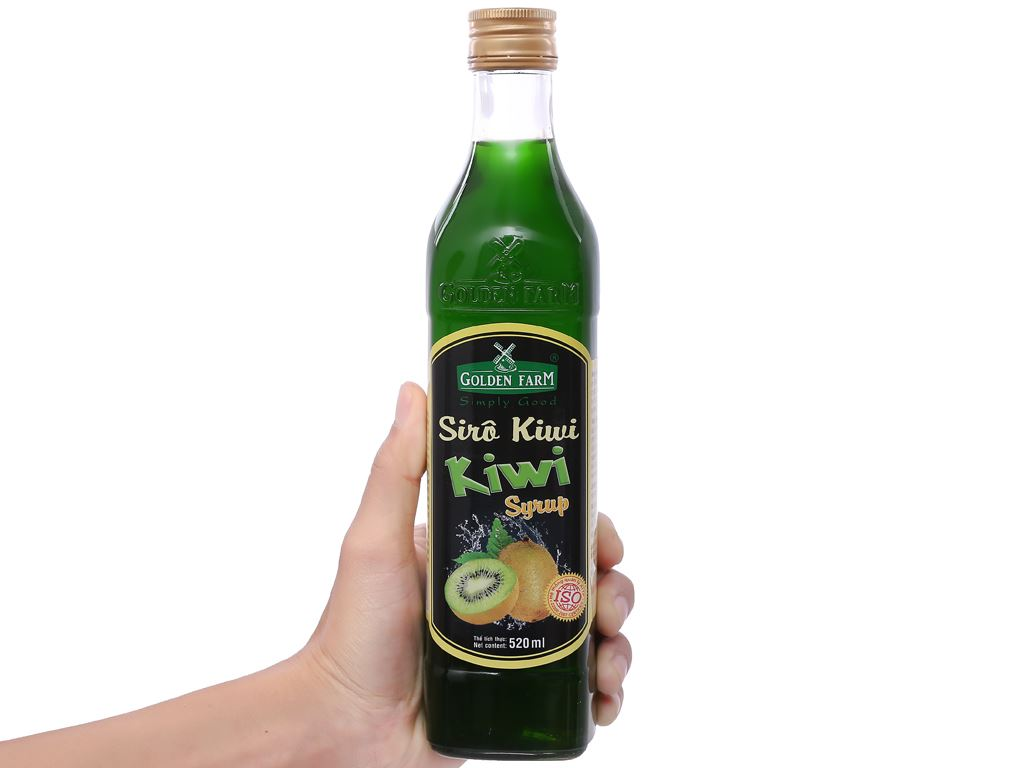 Sirô Golden Farm kiwi 520ml 3