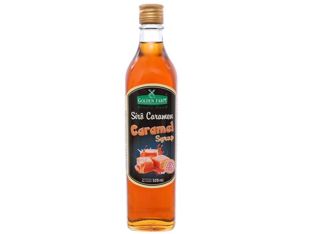 Sirô Golden Farm caramel 520ml 1