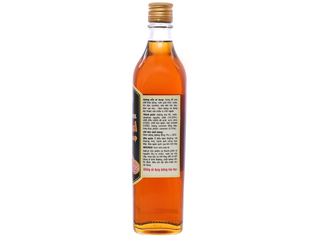 Sirô Golden Farm caramel 520ml 2