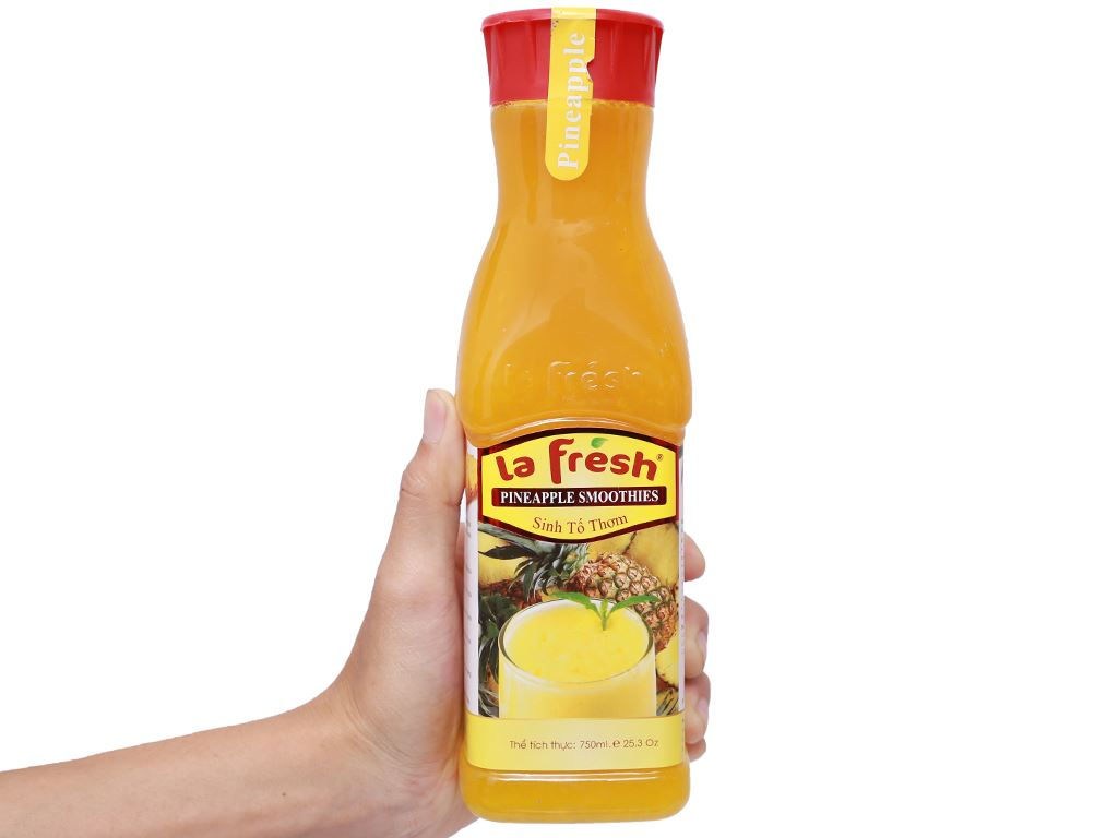 Sinh tố dứa La Fresh 750ml 4