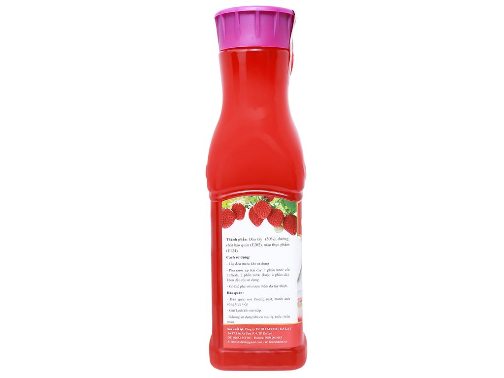 Nước cốt dâu tây La Fresh 650ml 3