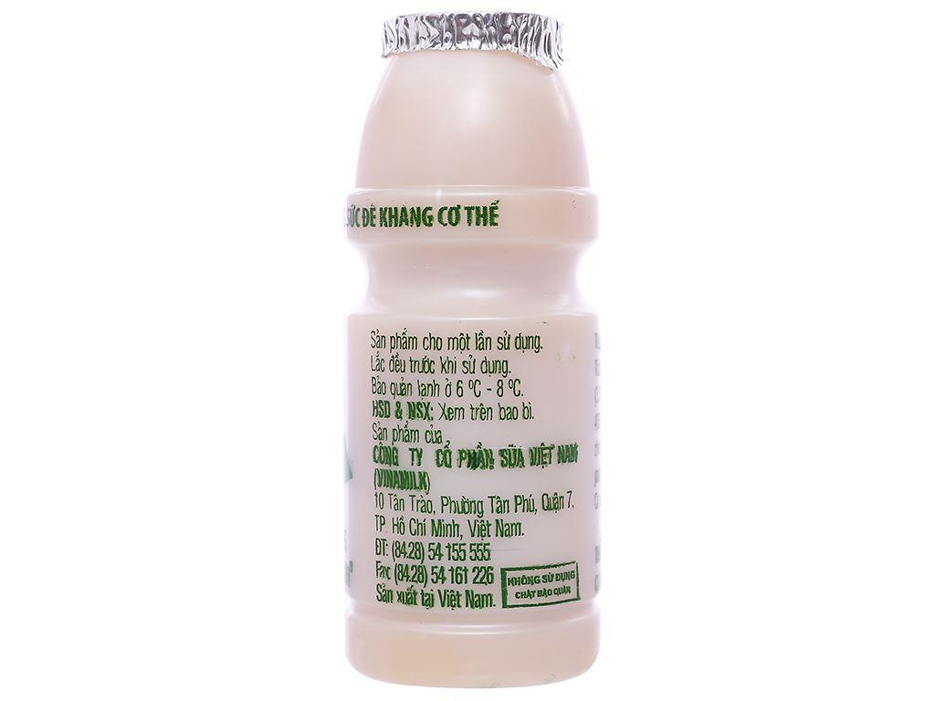Lốc 4 chai sữa chua uống men sống có đường Vinamilk Probi 130ml 3