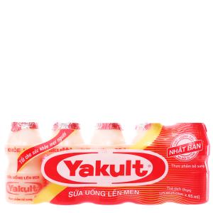 Lốc 5 chai sữa uống lên men Yakult 65ml