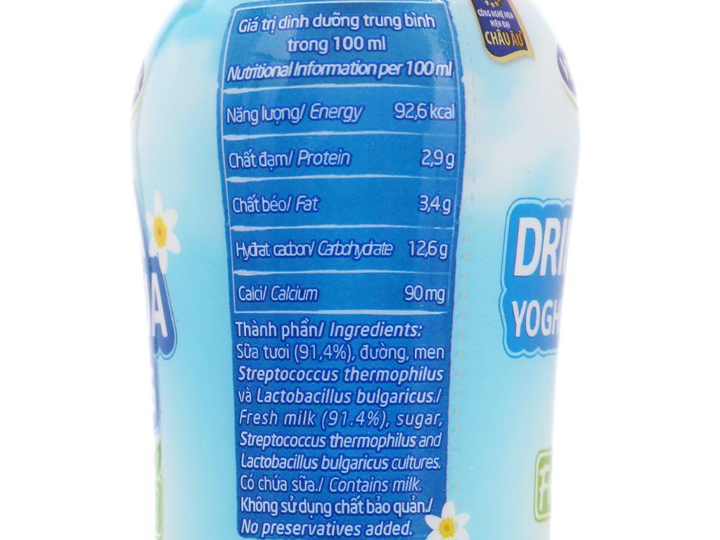 Sữa chua uống vị tự nhiên Vinamilk chai 200ml 8