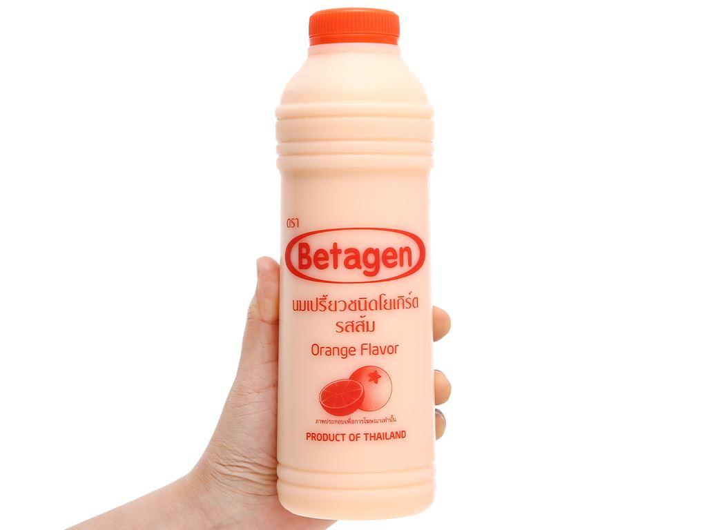 Sữa uống lên men hương cam Betagen chai 700ml 4