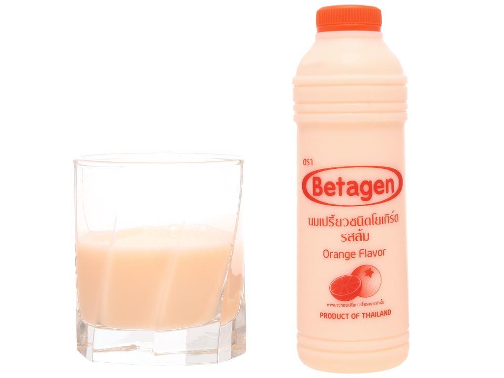Sữa uống lên men hương cam Betagen chai 700ml 5