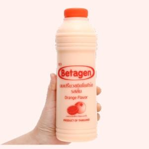 Sữa uống lên men hương cam Betagen chai 700ml