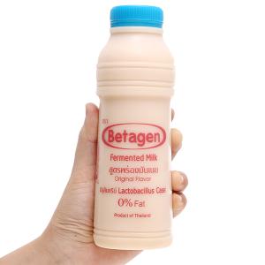 Sữa uống lên men hương tự nhiên Betagen chai 400ml
