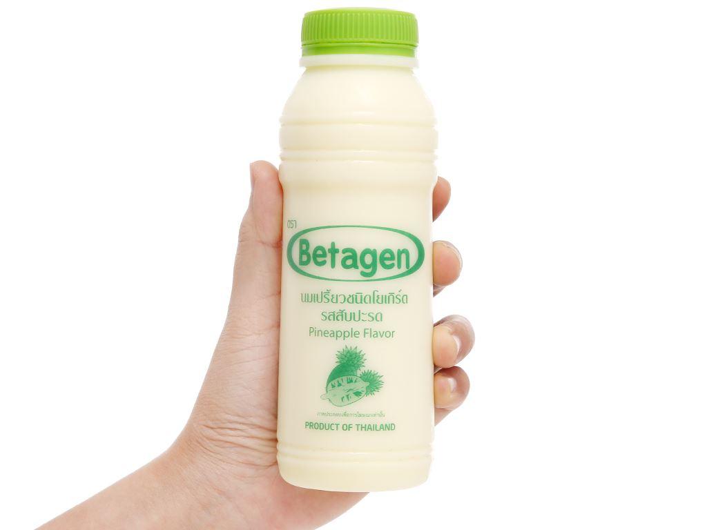 Sữa uống lên men hương dứa Betagen chai 300ml 4