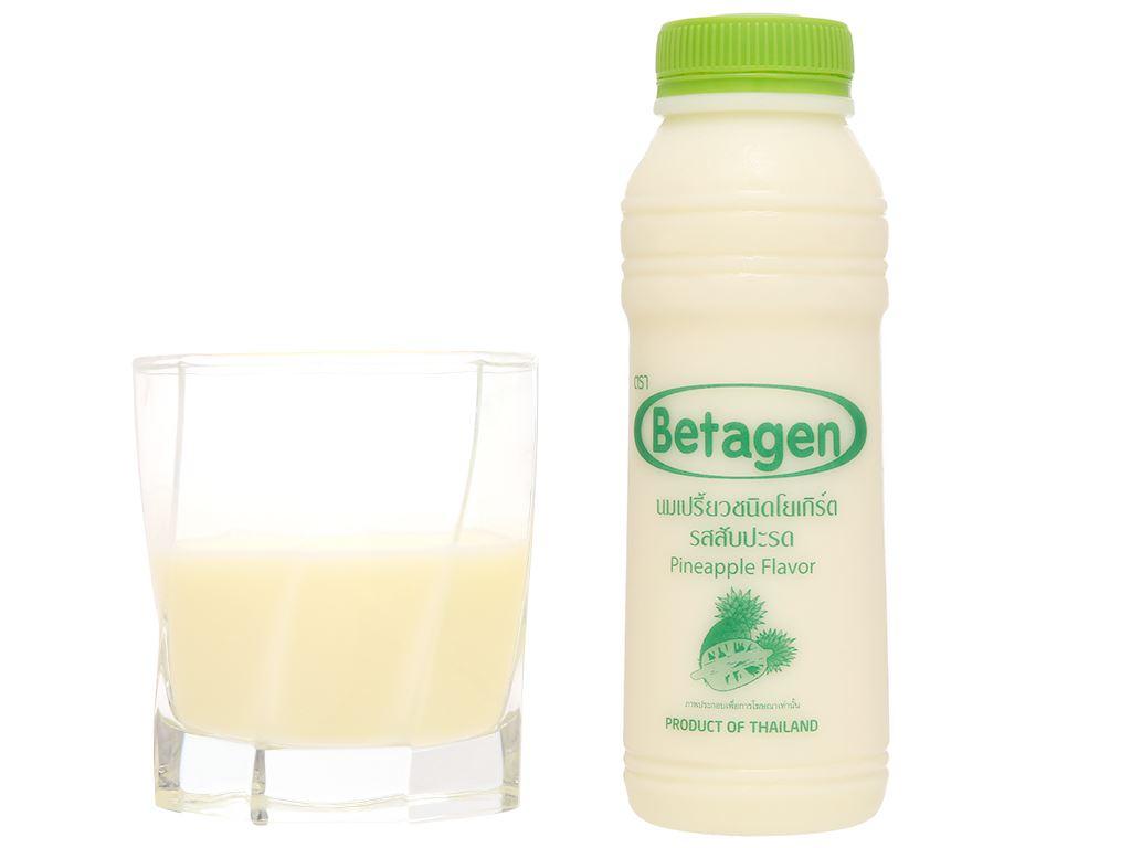 Sữa uống lên men hương dứa Betagen chai 300ml 5