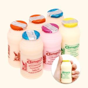 Lốc 6 chai sữa uống lên men hương hỗn hợp Betagen 85ml