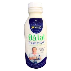 Sữa chua uống VPMilk Đà Lạt Fresh Yogurt chai 450ml
