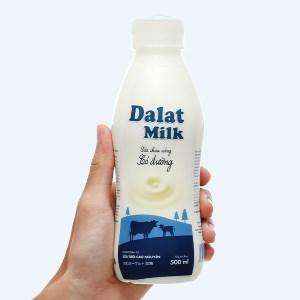 Sữa chua uống có đường Dalat Milk 500ml