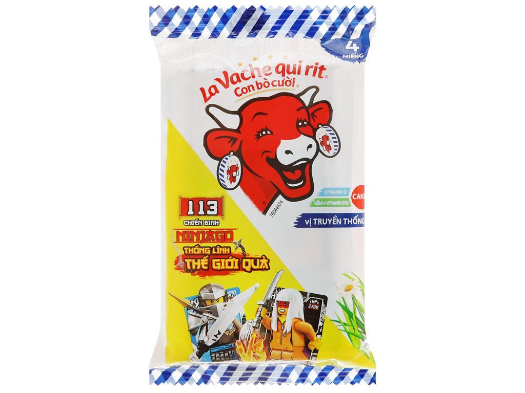 Phô mai Con Bò Cười gói 60g (4 miếng) 1