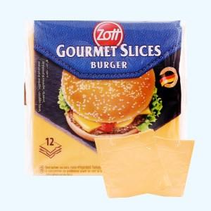 Phô mai lát Zott Burger gói 200g (12 lát)