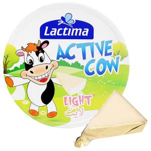 Phô mai vị sữa Lactima Active Cow hộp 120g (8 miếng)