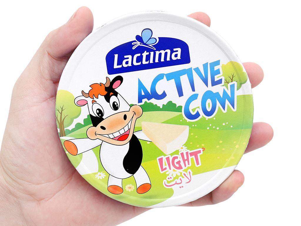 Phô mai vị sữa Lactima Active Cow hộp 120g (8 miếng) 6
