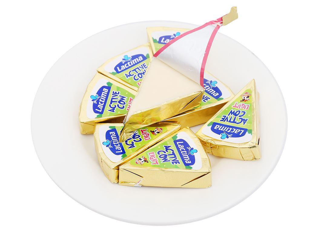 Phô mai vị sữa Lactima Active Cow hộp 120g (8 miếng) 7