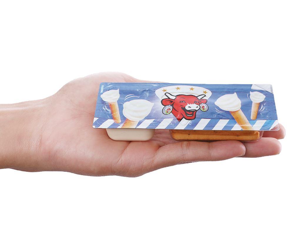 Phô mai chấm bánh Con Bò Cười Cheez Dippers hộp 35g 2