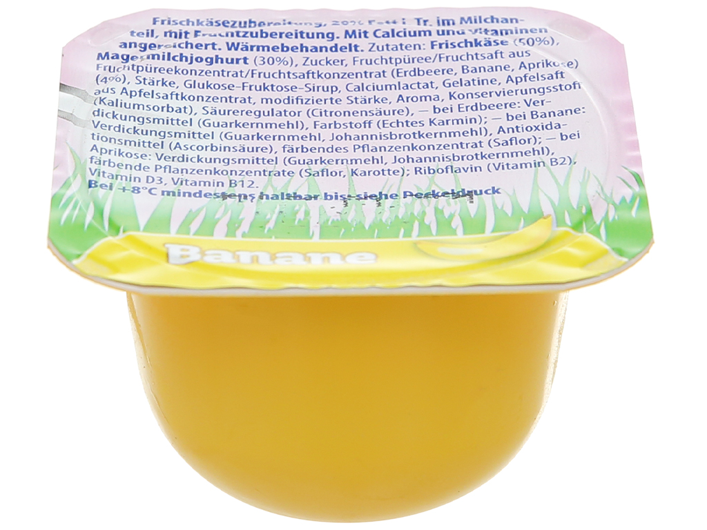 Lốc 6 hộp phô mai vị trái cây (dâu, chuối, mơ) Kids Mix Le Petit Plaisir 50g x 6 hũ 4