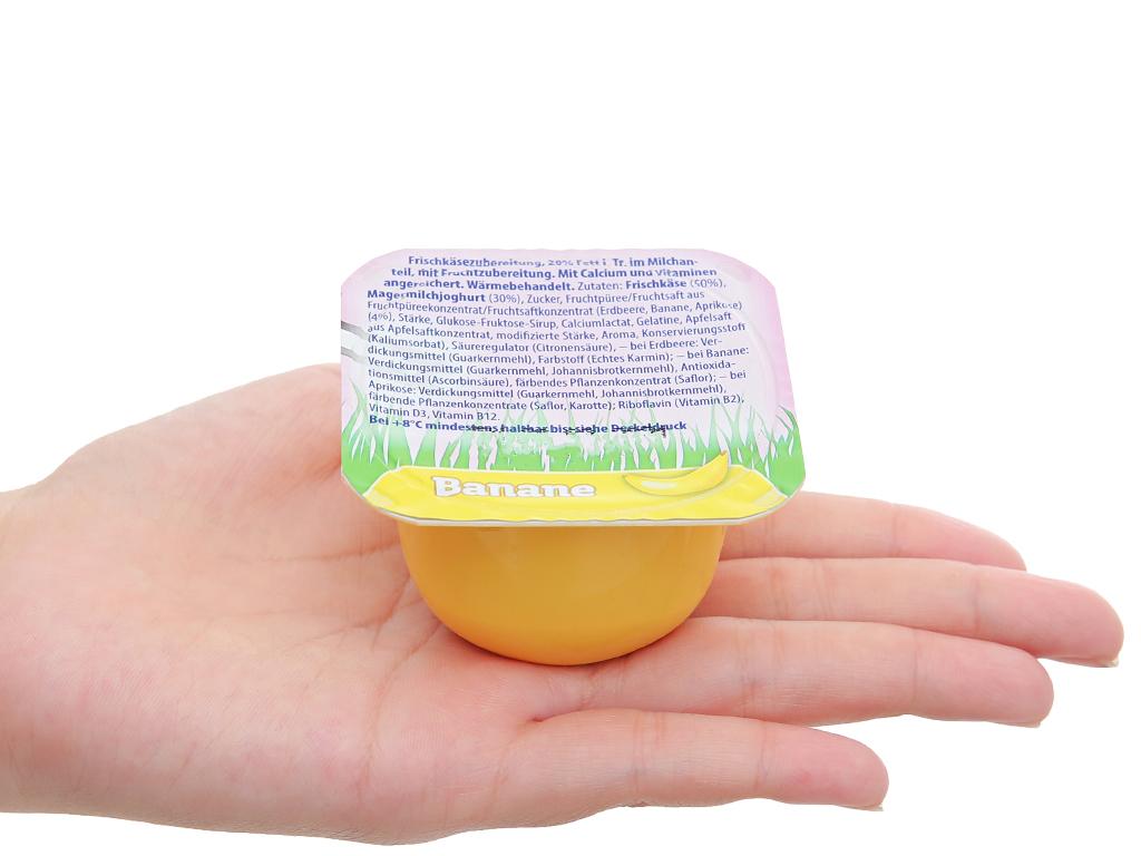 Lốc 6 hộp phô mai vị trái cây (dâu, chuối, mơ) Kids Mix Le Petit Plaisir 50g x 6 hũ 5