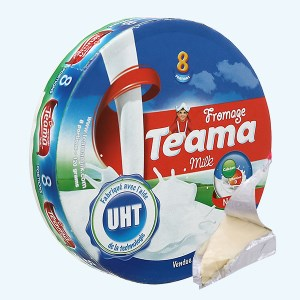 Phô mai vị sữa Teama hộp 120g (8 miếng)