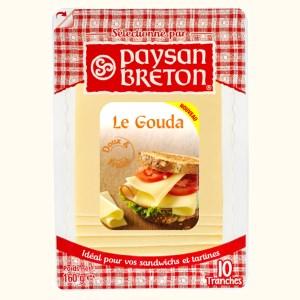 Phô mai miếng Paysan Breton Gouda gói 160g