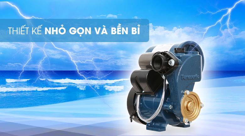 Máy bơm nước tăng áp Panasonic A-130JAK 125W - Thiết kế nhỏ gọn, bền bỉ và tiết kiệm năng lượng