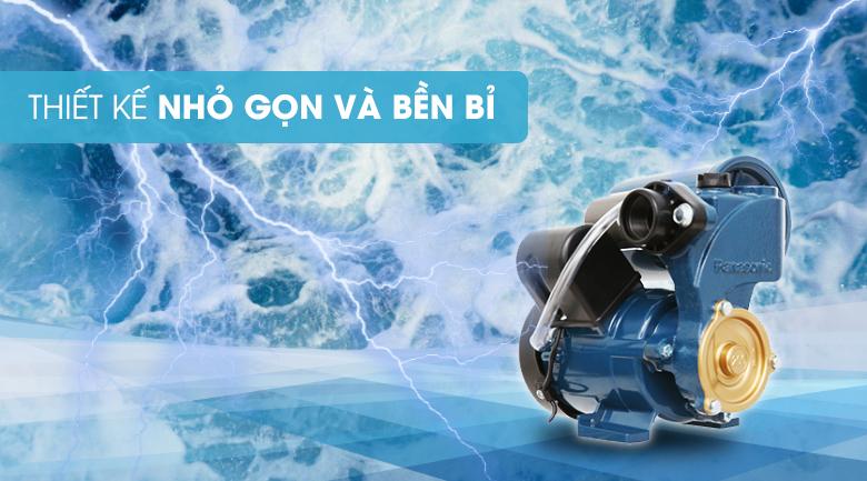 Máy bơm nước tăng áp Panasonic A-200JAK 200W - Thiết kế nhỏ gọn, bền bỉ và tiết kiệm năng lượng