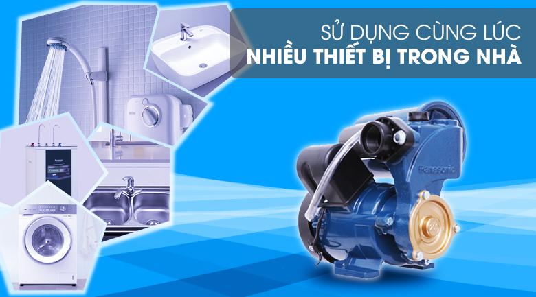 Máy bơm nước tăng áp Panasonic A-200JAK 200W - Sử dụng cùng lúc nhiều thiết bị trong nhà