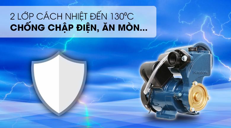 Máy bơm nước tăng áp Panasonic A-200JAK 200W - 2 lớp cách nhiệt