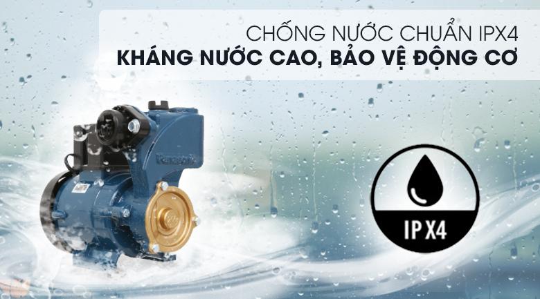 Máy bơm nước đẩy cao Panasonic GP-200JXK-SV5 200W - Chuẩn chống nước IPX4